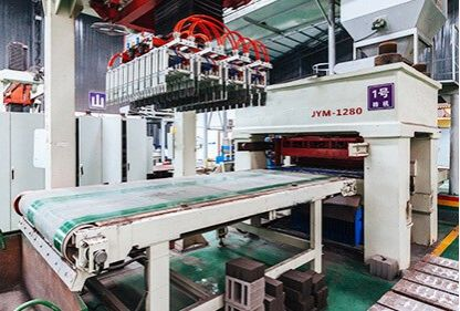 JYM-1280 hydraulic brick making machine